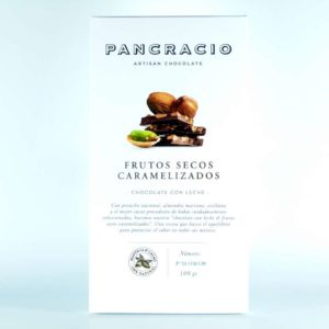 Comprar Chocolate Pancracio con leche y frutos secos caramelizados online gourmet
