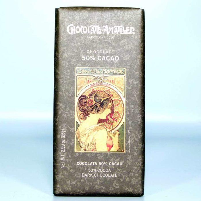 Comprar Tableta de chocolate Amatller 50 % cacao Ghana 85 grs gourmet online