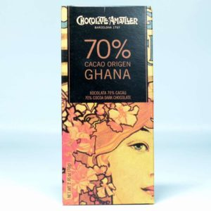 Comprar online Tableta de chocolate Amatller Ghana 70% cacao 70 grs