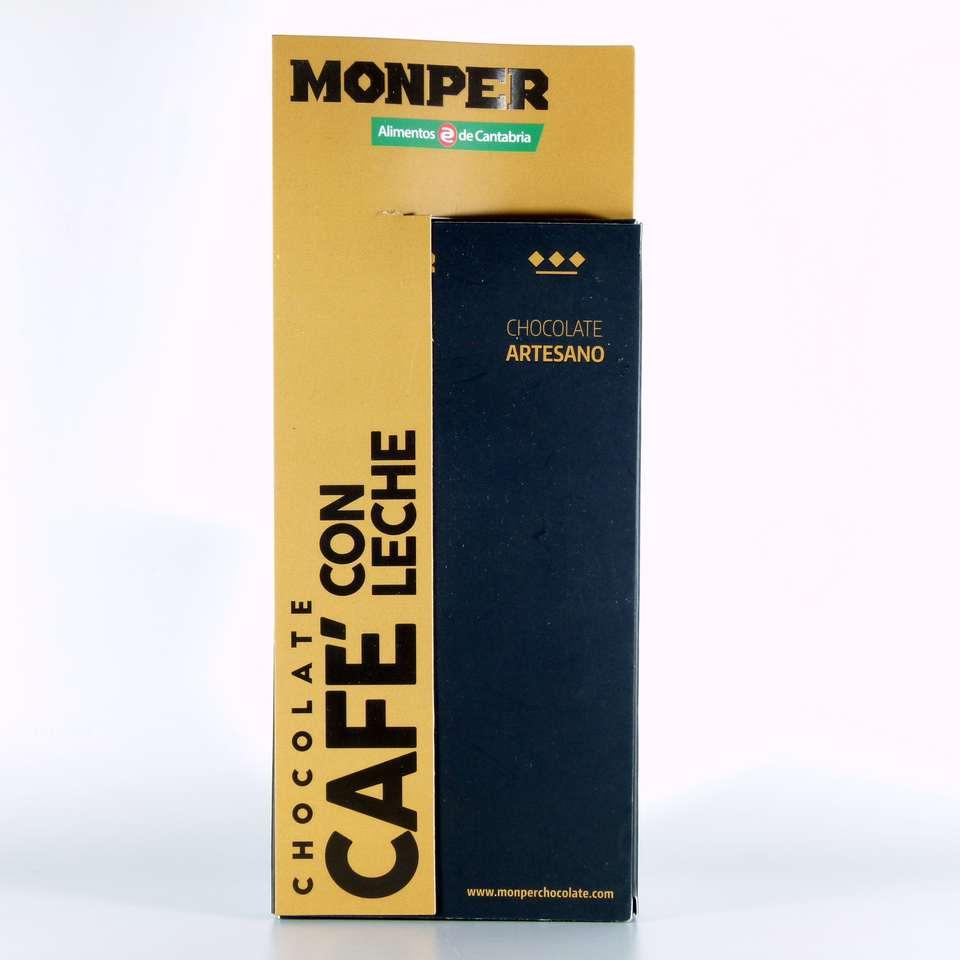 comprar chocolate monper gourmet cafe con leche cantabria online