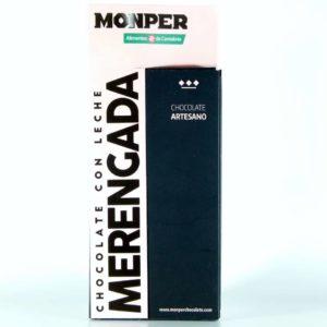 comprar chocolate monper gourmet con leche merengada cantabria online
