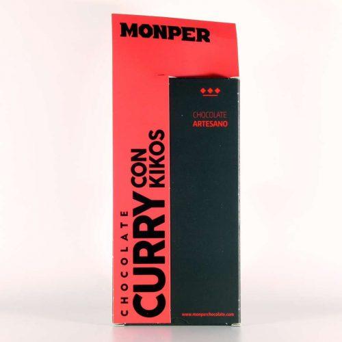comprar chocolate monper gourmet curry con kikos cantabria online