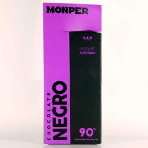 comprar chocolate monper gourmet negro 90% cantabria online