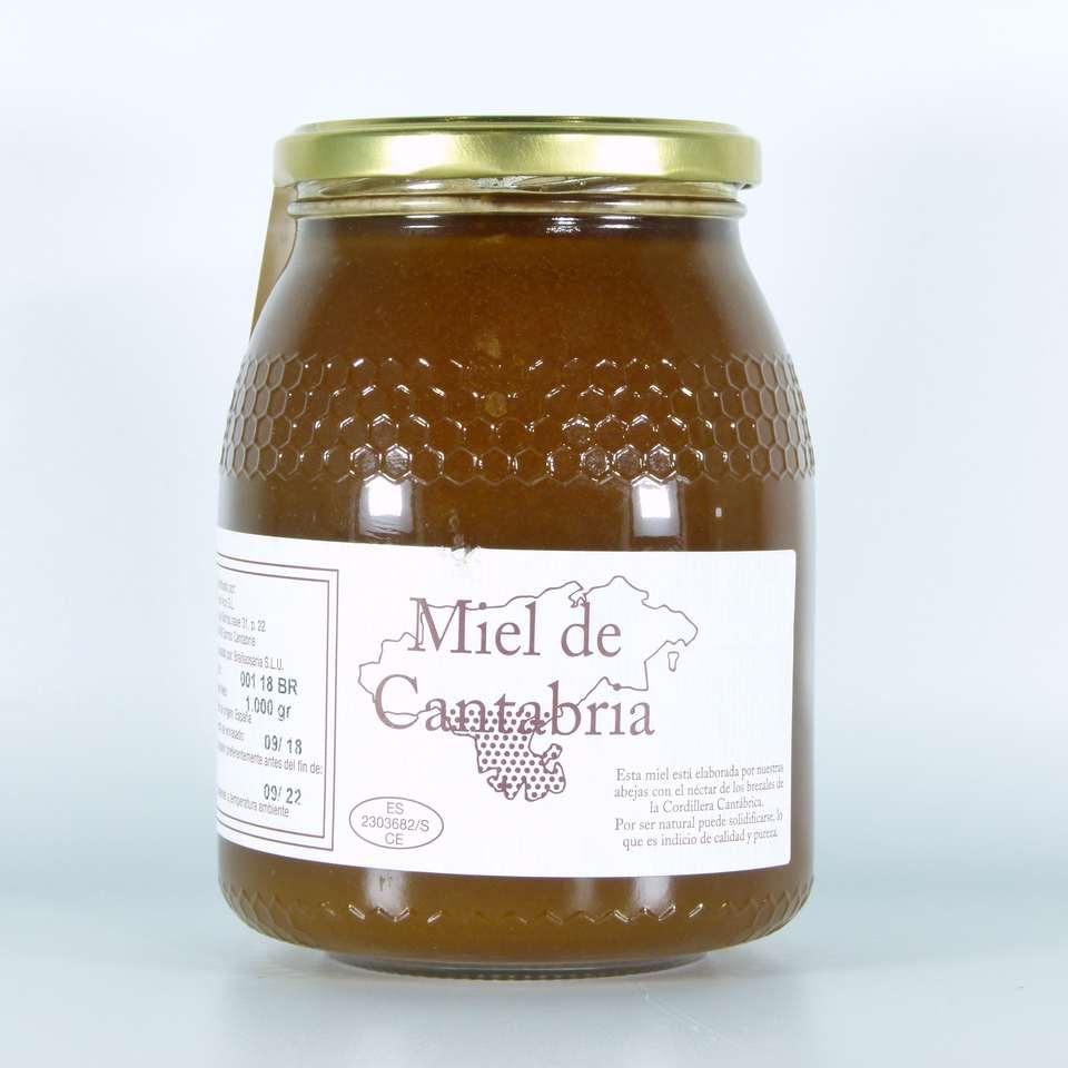Comprar miel de brezo de cantabria pura artesana la merindad gourmet online 1 kg