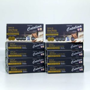 Comprar 10 octavillos de anchoas de Santoña Catalina online