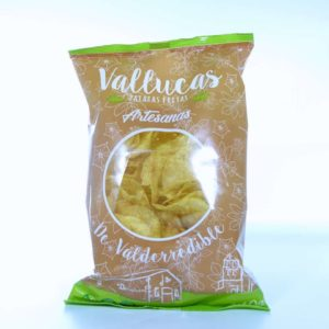 Patatas fritas vallucas de Valderredible