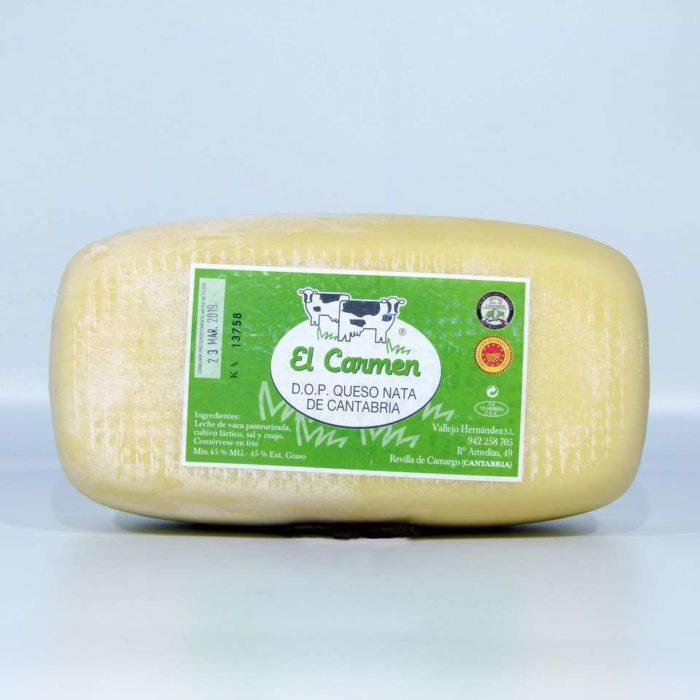 Queso de nata Cantabria el Carmen