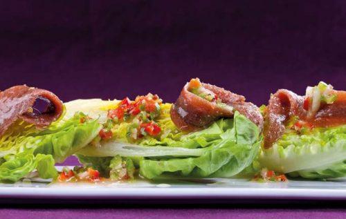 Receta de ensalada con anchoas