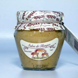 Salsa de hongos de conservas Rosara