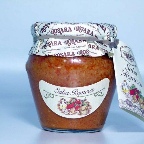 Salsa Romesco conservas Rosara