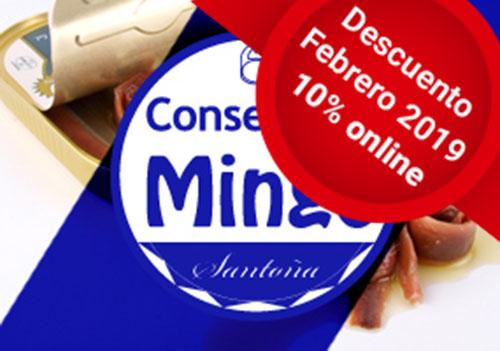 Comprar anchoas Mingo online