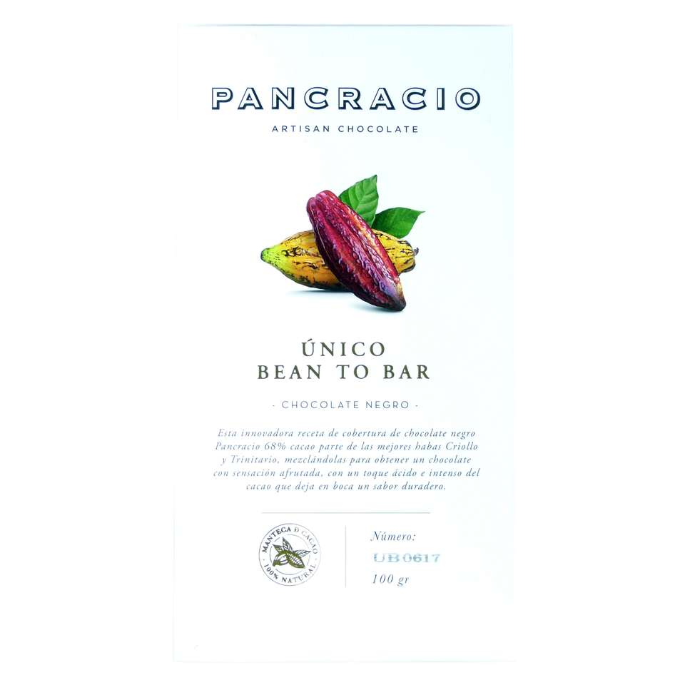 comprar Chocolate Pancracio unico bean to bar online100 grs