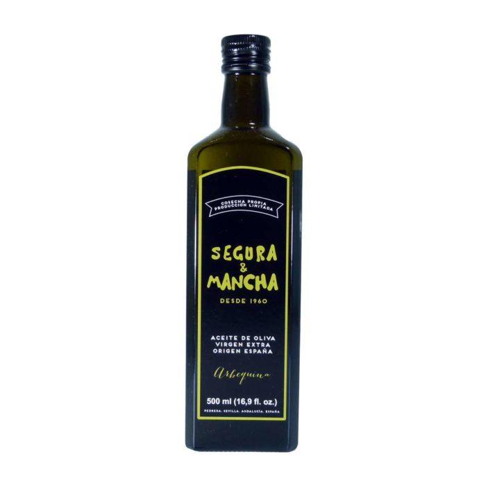 aceite arbequina segura y mancha