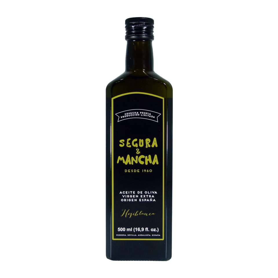 aceite de oliva segura y mancha hojiblanca