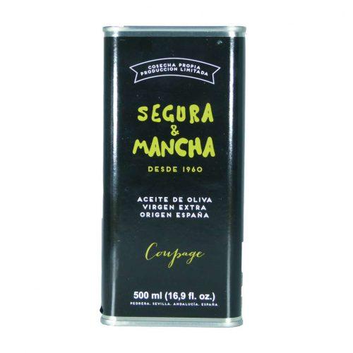 segura y mancha aceite de oliva virgen extra coupage lata