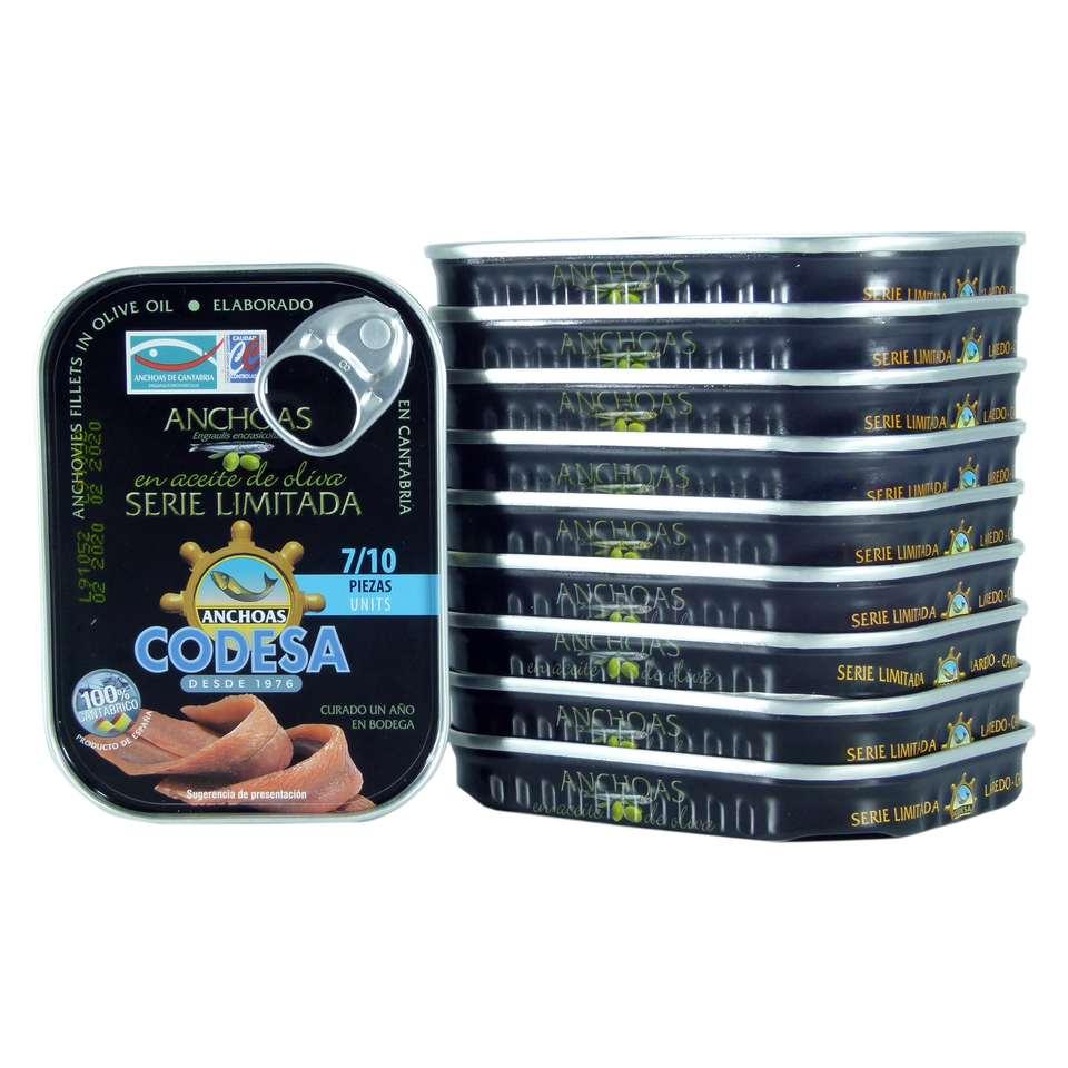 anchoas codesa 10 octavillos cantabrico