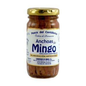 Anchoas Mingo tarro de 18 filetes
