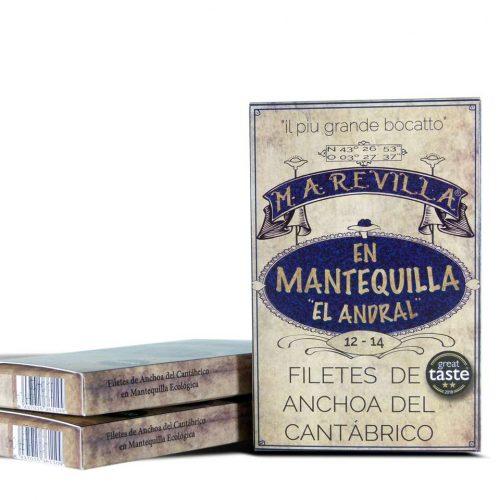 anchoas revilla mantequilla pack ahorro 3 hansas