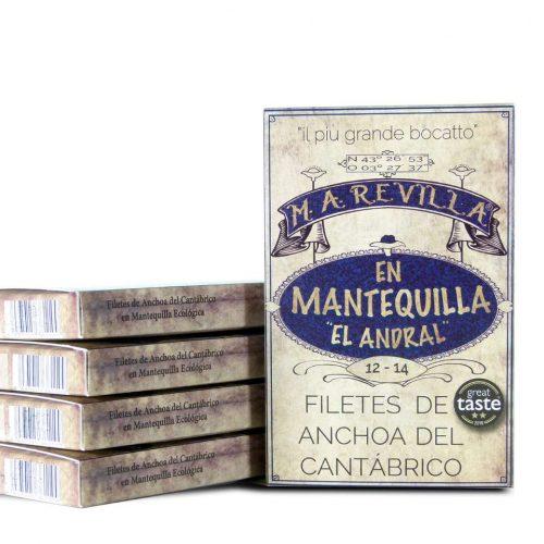 anchoas revilla mantequilla pack ahorro 5 hansas