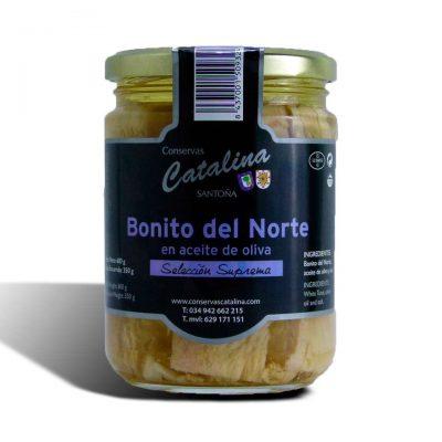 bonito del norte catalina tarro de 600 gramos