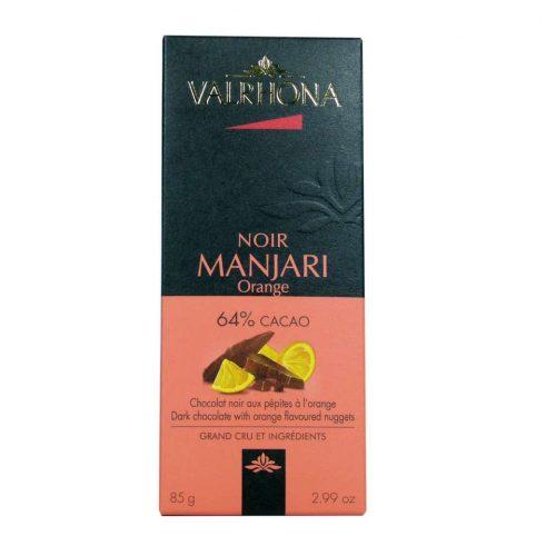 Chocolate Valrhona Manjari 85 gramos