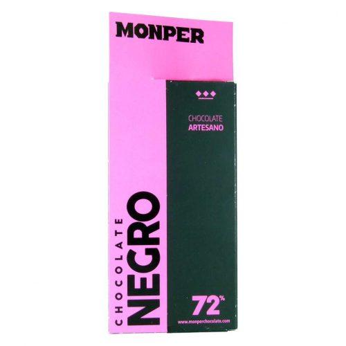 chocolate monper negro 72 por ciento cacao