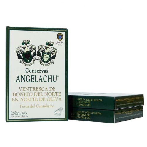 Conservas angelachu ventresca de bonito del norte Hansa ahorro 3 unidades