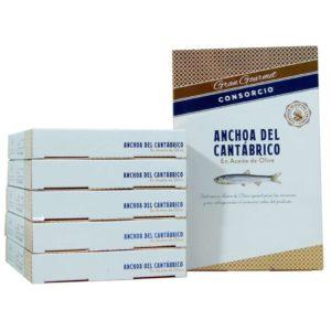 Anchoas Consorcio doble octavillo OFERTA 6 unidades