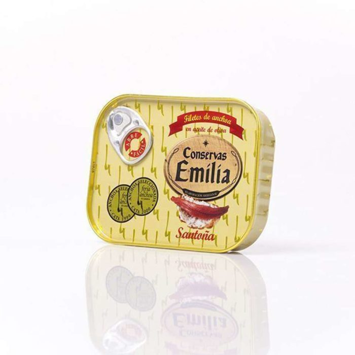anchoas de conservas emilia lata 78 gramos