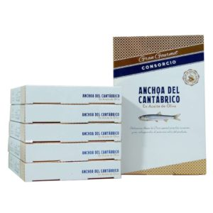 Anchoas del Cantábrico conservas consorcio gran gourmet OFERTA 6 unidades