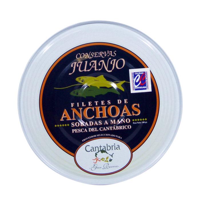 Anchoas Juanjo Conservas gran selección lata 180 gramos
