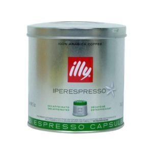 Café en capsulas Illy descafeinado lata