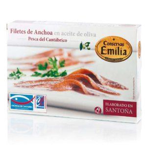 conservas emilia anchoas 112 gramos lata