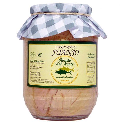 Tarro de bonito de Conservas Juanjo de 1000 gramos