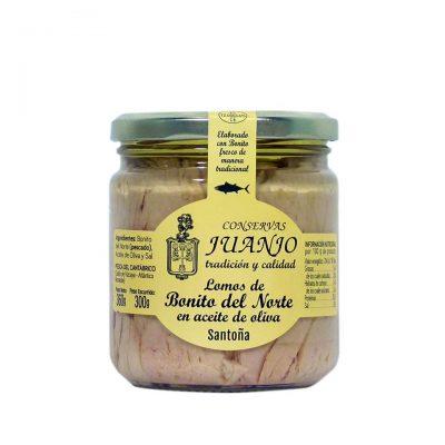 Conservas Juanjo tarro de bonito del norte en aceite de oliva de 400 grs