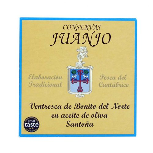 Ventresca de bonito del norte conservas Juanjo lata 280 grs