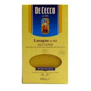Pasta de cecco lasagna online