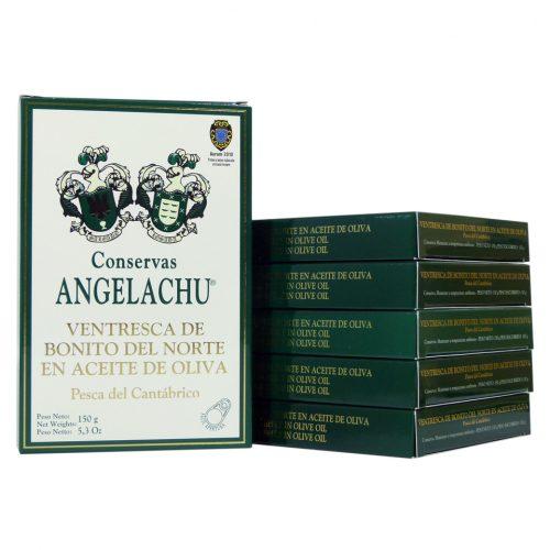 Conservas angelachu ventresca de bonito del norte Hansa oferta 6 unidades