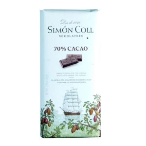 Chocolate Simon Coll 70% cacao