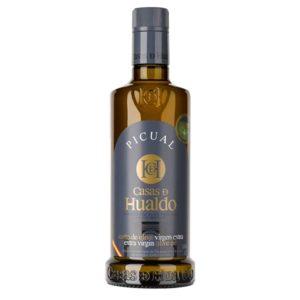 Aciete picual casas de hualdo oliva virgen extra