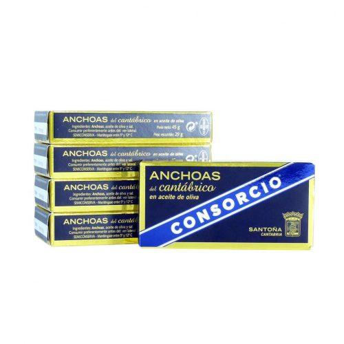 Comprar anchoas consorcio promoción 5 octavillos online