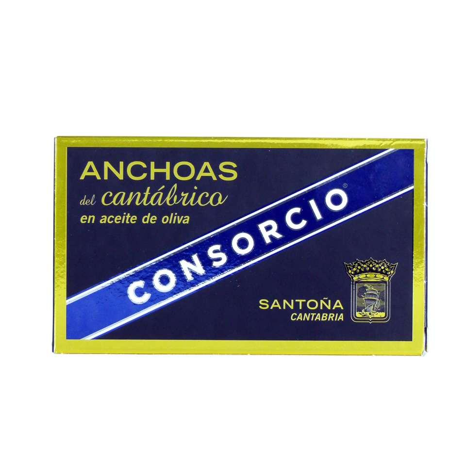 Comprar anchoas consorcio serie oro doble octavillo online
