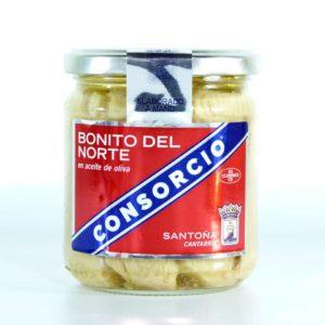 Comprar bonito del norte en aceite de oliva conservas consorcio tarro 295 gramos