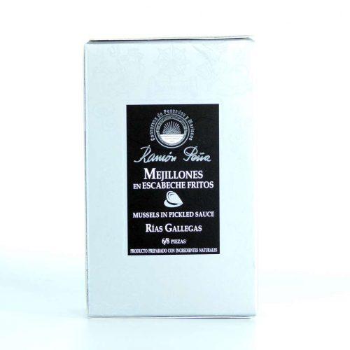 Comprar mejillones en escabeche Conservas Ramón Peña 6-8 piezas