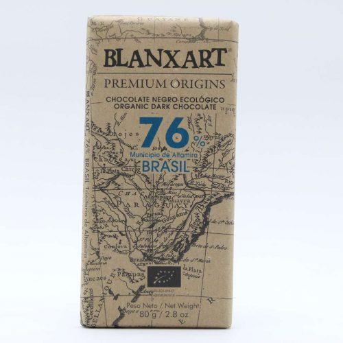 Comprar chocolate online blanxart 76% cacao trinitario brasil