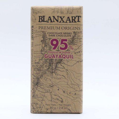 Comprar chocolate online blanxart 95% cacao nacional guayaquil