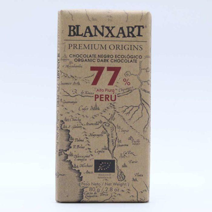 Comprar chocolate online blanxart 77% cacao criollo peru