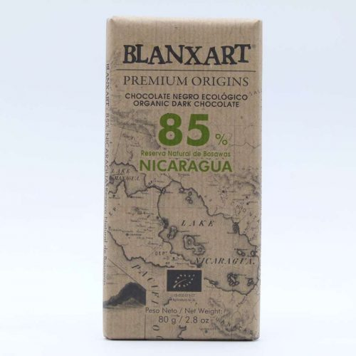 Comprar chocolate online blanxart 85% trinitario criollo nicaragua