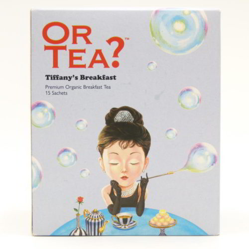 Or tea Tiffanys breakfast