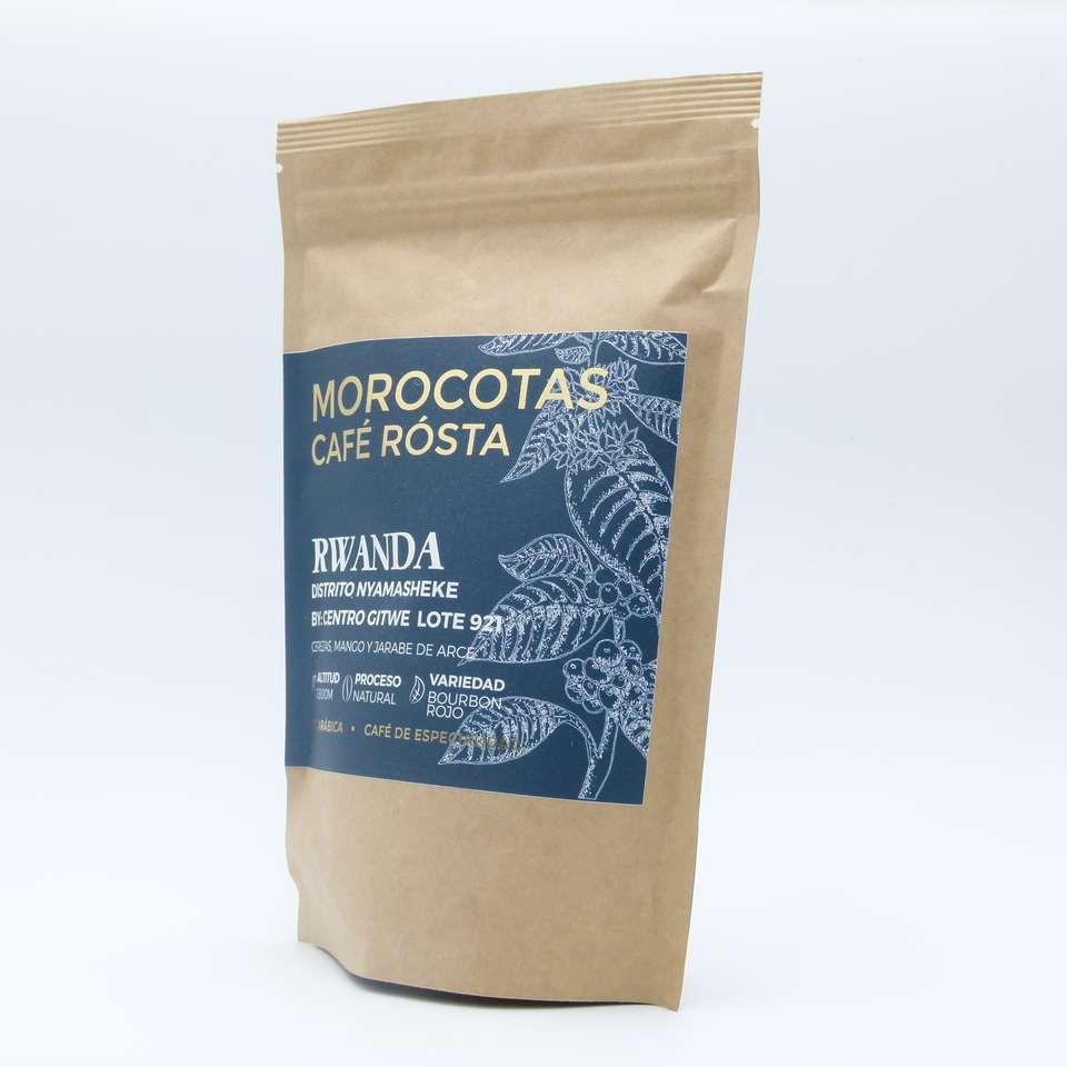 Comprar cafe gourmet de origen Rwanda en grano 150 gramos